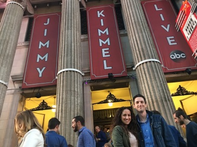 YES! We saw Jimmy Kimmel with guest Khloe Kardashian!! It was super fun!